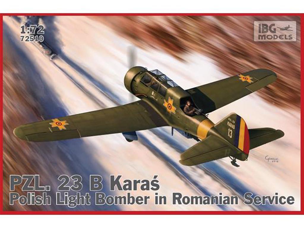 PZL.23 B Karas in Romanian Service (Vista 1)