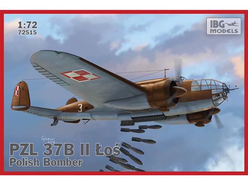 PZL.37 B II Los - Polish Medium Bomber (Vista 1)