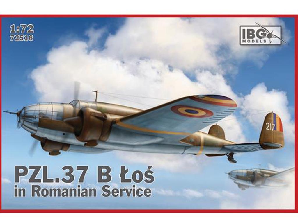 PZL. 37 Los B II in Romanian Service (Vista 1)
