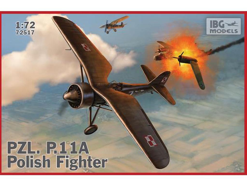 PZL P.11a - Polish Fighter Plane (Vista 1)