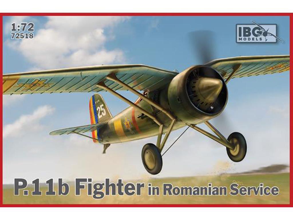 P.11b Fighter in Romanian Service (Vista 1)