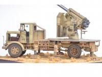 Autocannone 3Ro italiano con un cañón antiaéreo de 90/53 90mm (Vista 5)