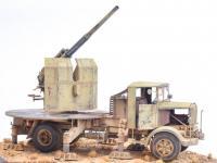 Autocannone 3Ro italiano con un cañón antiaéreo de 90/53 90mm (Vista 6)