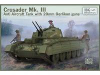 Crusader Anti Air Tank Mk. III with Oerlikon Guns (Vista 2)
