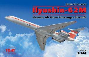 Ilyushin-62M, German Air Force Passenger  (Vista 1)