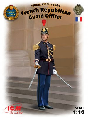 French Republican Guard Officer  (Vista 1)
