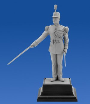 French Republican Guard Officer  (Vista 2)