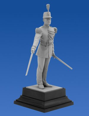 French Republican Guard Officer  (Vista 3)