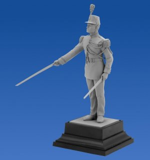 French Republican Guard Officer  (Vista 4)