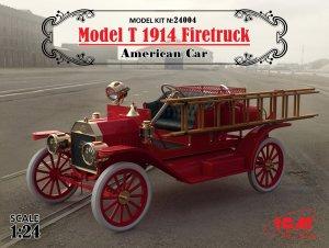 Model T 1914 Firetruck, American Car  (Vista 1)