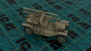 Model T 1914 Firetruck, American Car  (Vista 3)