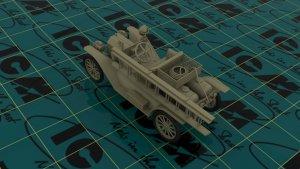 Model T 1914 Firetruck, American Car  (Vista 5)