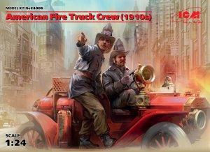 American Fire Truck Crew 1910 - Ref.: ICMM-24006
