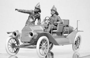 American Fire Truck Crew 1910  (Vista 3)