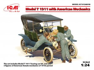 Model T 1911 Touring with American Mecha