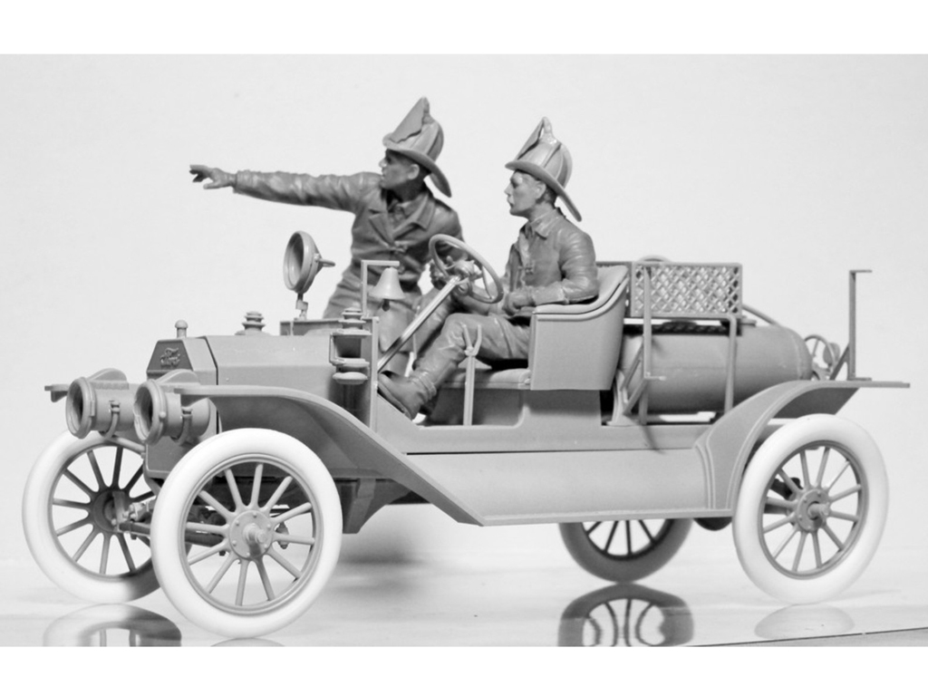 Model T 1914 Fire Truck with Crew   (Vista 6)