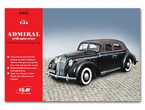 German Admiral Cabriolet w/open cover  (Vista 1)