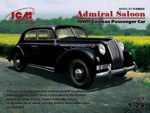 Admiral Saloon, WWII German Passenger Ca  (Vista 1)