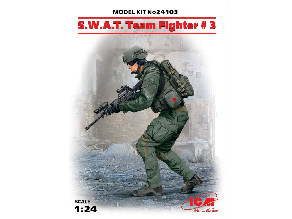 S.W.A.T. Team Fighter #3