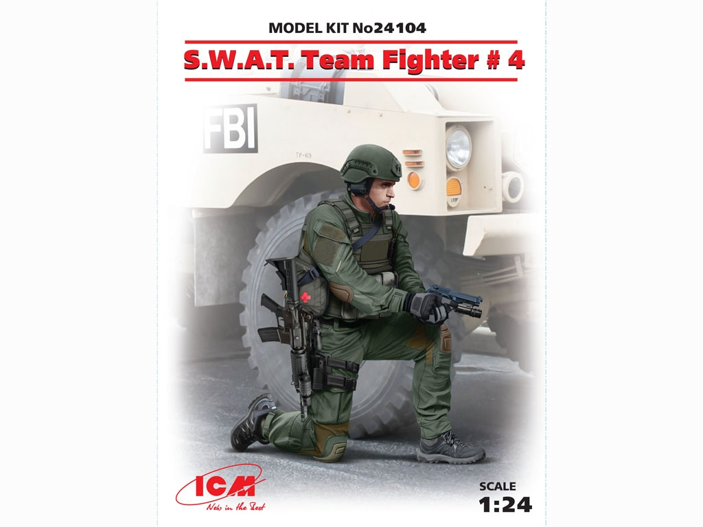 S.W.A.T. Team Fighter №4  (Vista 1)