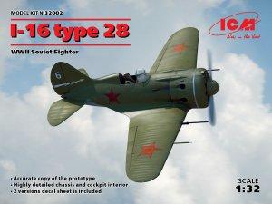 I-16 type 28, WWII Soviet Fighter  (Vista 1)