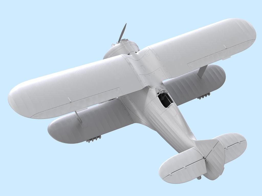 Avion Sovietico I-153  (Vista 10)