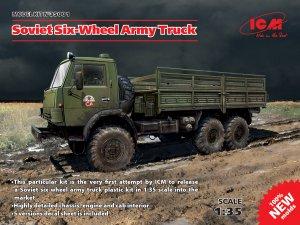 Soviet Six-Wheel Army Truck  (Vista 1)