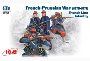 Infanteria de Linea Francesa 1870-1871   (Vista 1)