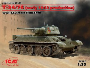 T-34/76 early 1943 production  (Vista 1)