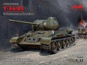 Т-34-85, WWII Soviet Medium Tank  (Vista 1)