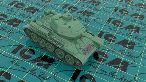 Т-34-85, WWII Soviet Medium Tank  (Vista 2)