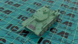 Т-34-85, WWII Soviet Medium Tank  (Vista 4)