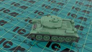 Т-34-85, WWII Soviet Medium Tank  (Vista 5)