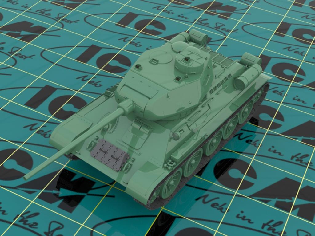 T-34-85 with Soviet Tank Riders  (Vista 4)