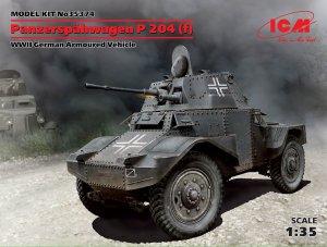 Panzerspähwagen P 204 (f), WWII German A  (Vista 1)