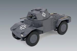 Panzerspähwagen P 204 (f), WWII German A  (Vista 2)