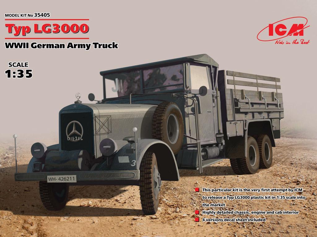 Typ LG3000, WWII German Army Truck  (Vista 1)