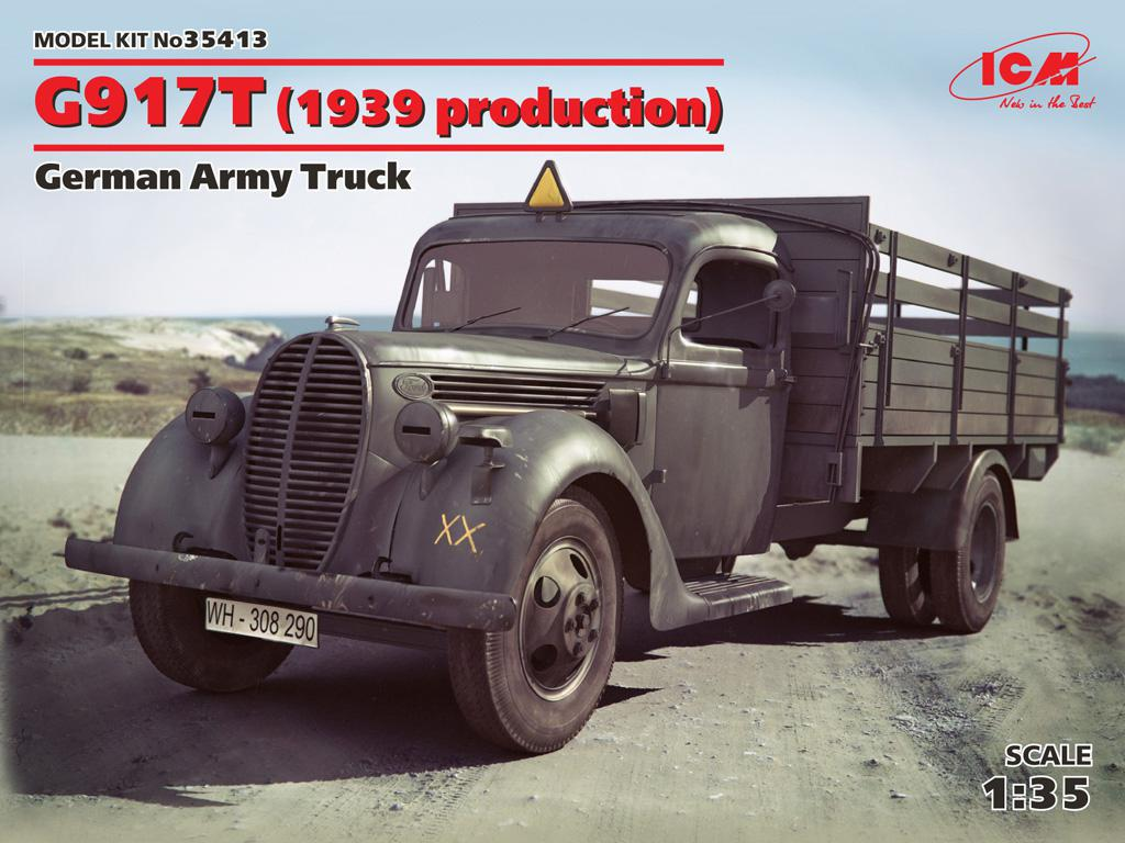 G917T (1939 production), German Army Tru  (Vista 1)