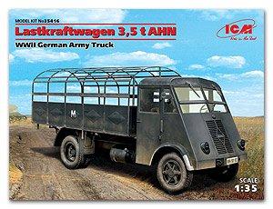 Lastkraftwagen 3,5 t AHN, WWII German Ar  (Vista 1)