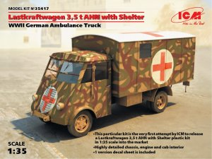 Lastkraftwagen 3.5 t AHN with Shelter, W  (Vista 1)