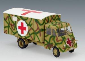 Lastkraftwagen 3.5 t AHN with Shelter, W  (Vista 2)