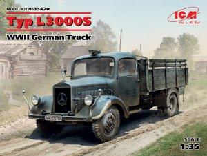 Typ L3000S, WWII German Truck  (Vista 1)