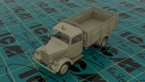 Typ L3000S, WWII German Truck  (Vista 2)