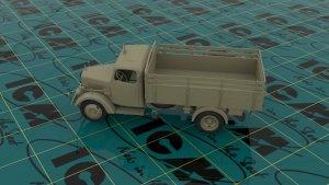 Typ L3000S, WWII German Truck  (Vista 3)