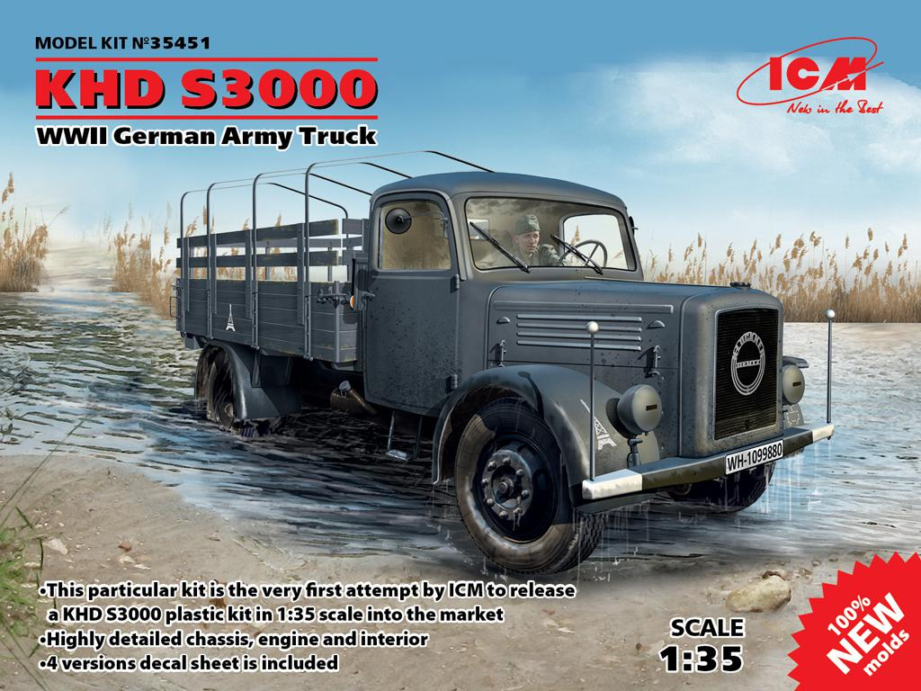 KHD S3000, WWII German Army Truck  (Vista 1)