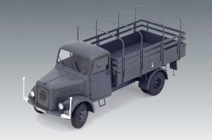 KHD S3000, WWII German Army Truck  (Vista 2)