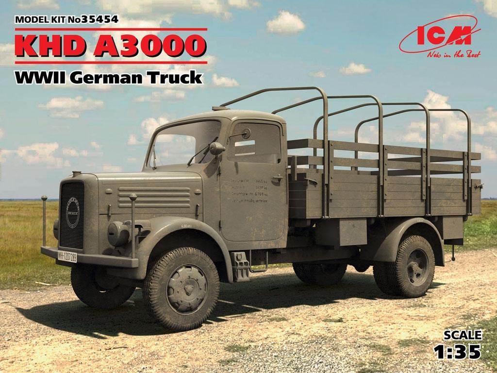 Camion Aleman KHD A3000  (Vista 1)