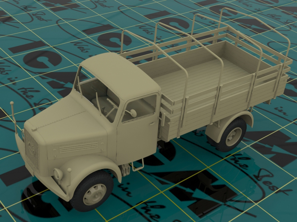 Camion Aleman KHD A3000  (Vista 2)