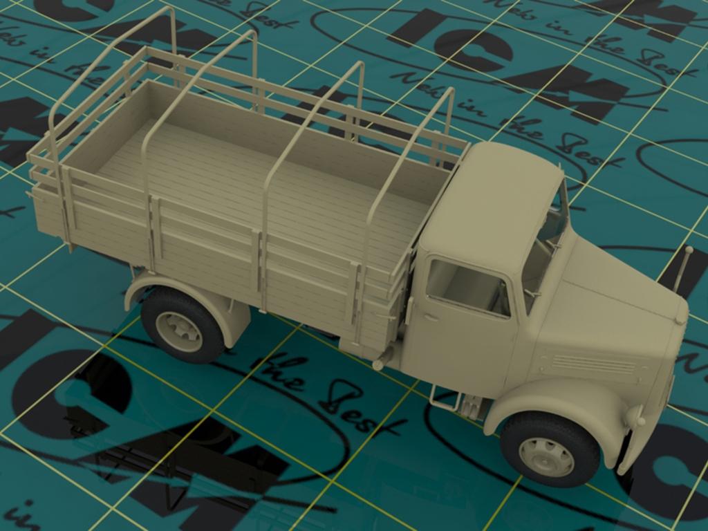 Camion Aleman KHD A3000  (Vista 3)