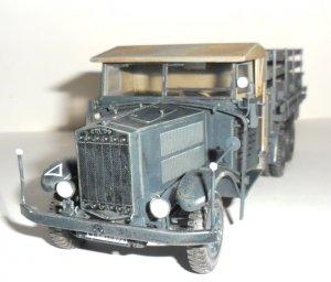 Krupp L3H163, WWII German Army Truck   (Vista 2)
